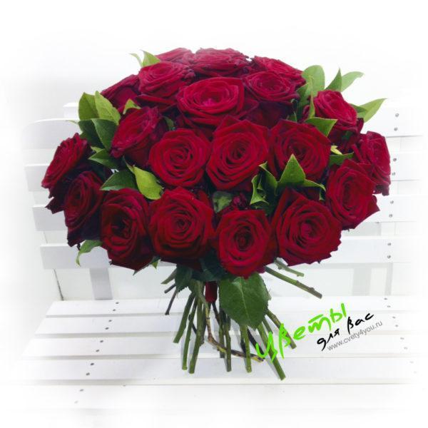 Состав: розы 35 штук