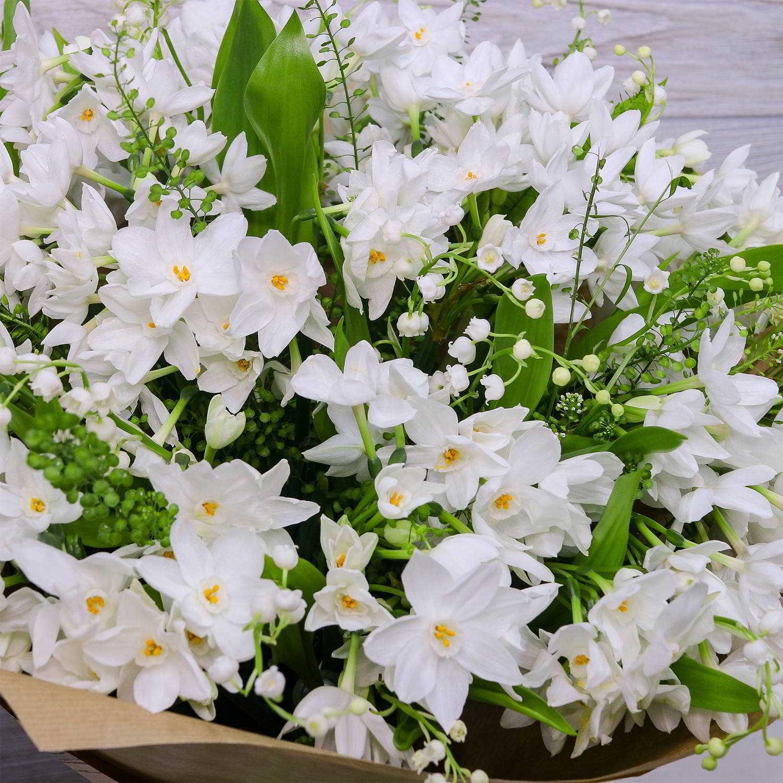 снежного картинка цветы ландыши нарциссы лилии говорит, что