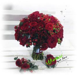 Состав: Розы 20шт