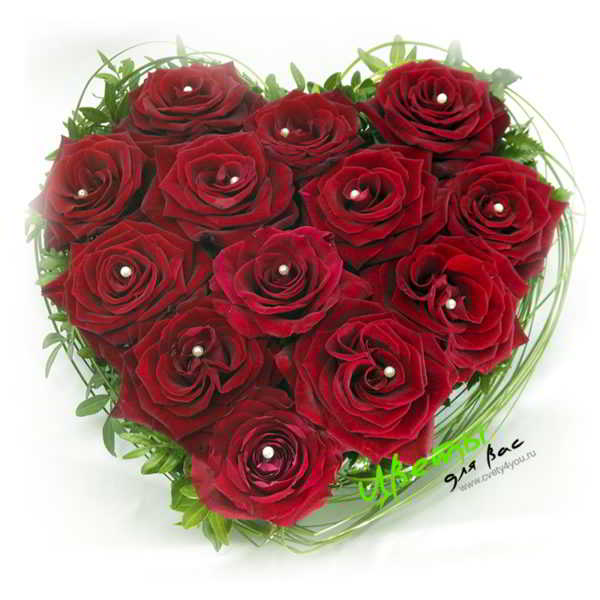 Состав: розы 13шт