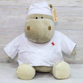 Бегемотик доктор маленький