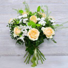 Состав: розы пинч аваланж 9 шт
