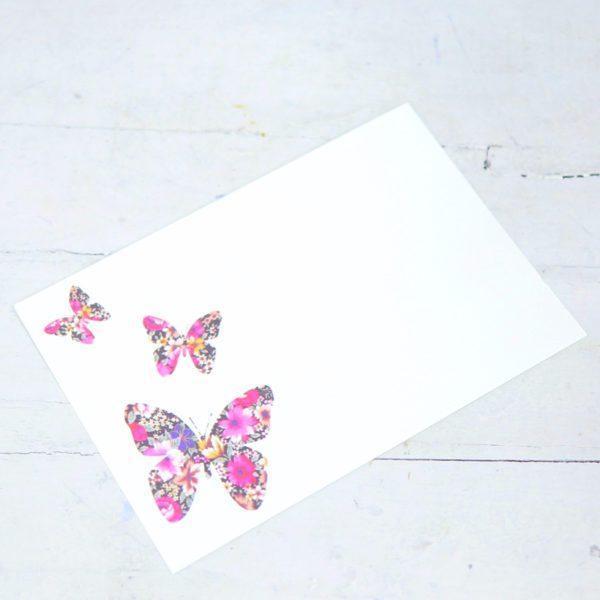 """Карточка-визитка """"Бабочки"""""""