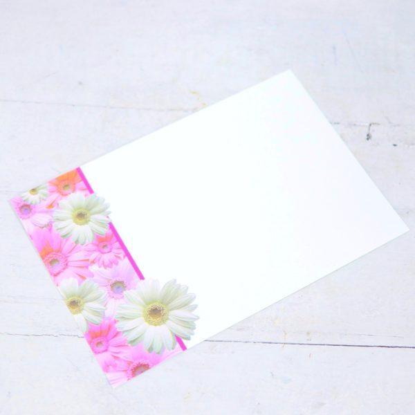 "Карточка-визитка ""Герберы"""