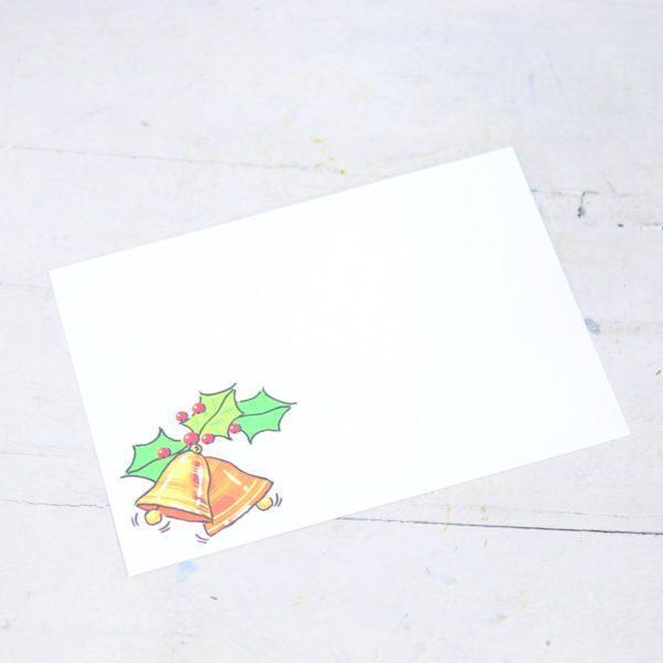 """Карточка-визитка """"Колокольчики"""""""
