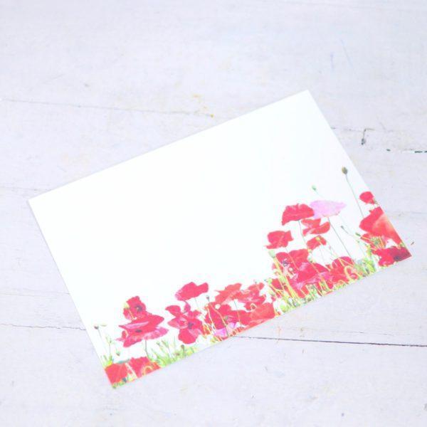 """Карточка-визитка """"Маки"""""""