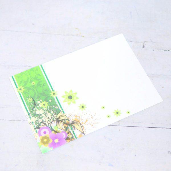"Карточка-визитка ""Узоры"""
