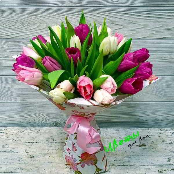 Состав: тюльпаны 31 шт.