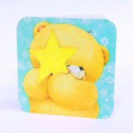 Мишка со звёздочкой