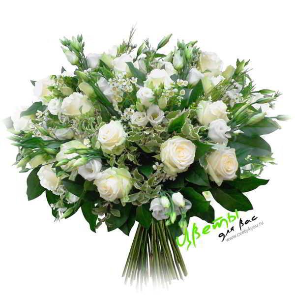 Состав: Чудесное сочетание свежих роз