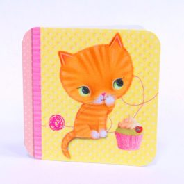 Оранжевый котёнок