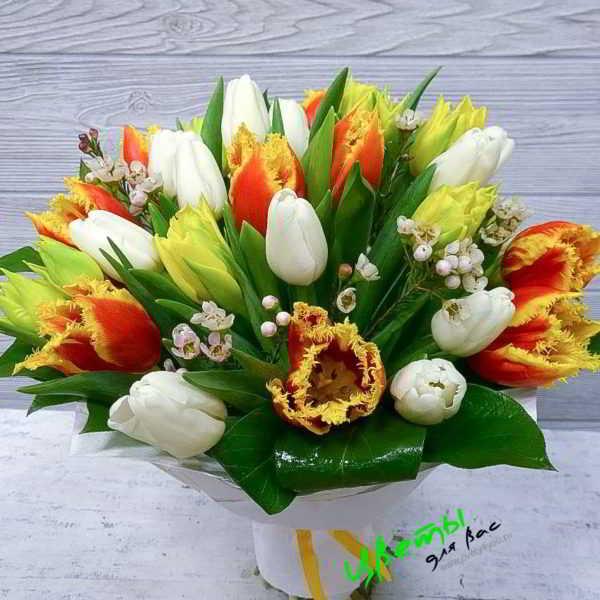 Состав: тюльпаны микс 29 шт.