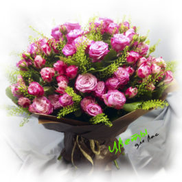Состав: кустовая роза 25 штук