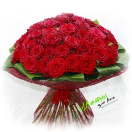 Состав: розы 51 штука