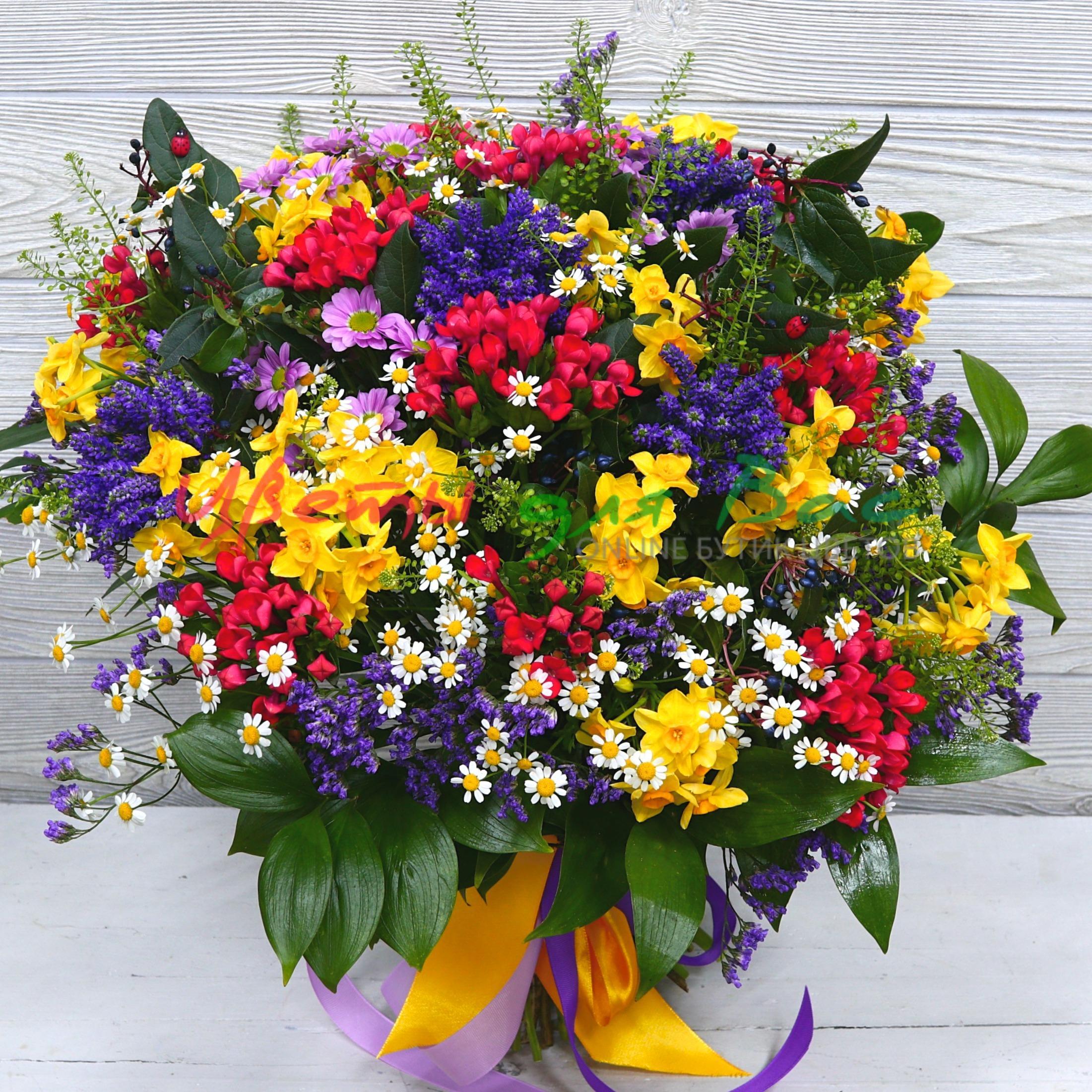 букеты цветов из разных цветов фото отрицал причастность преступлению