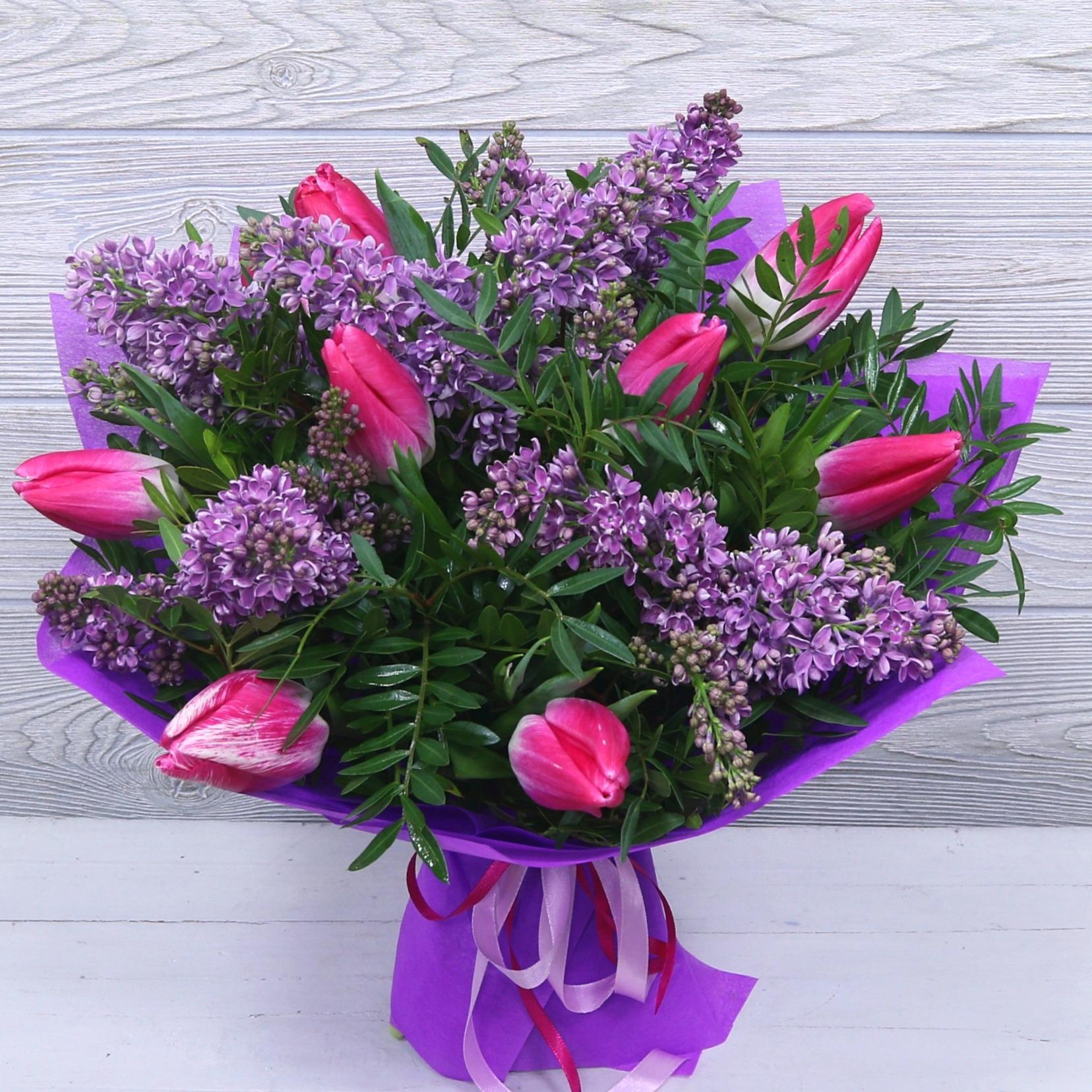 рококо картинки сирени с тюльпанами тому первого